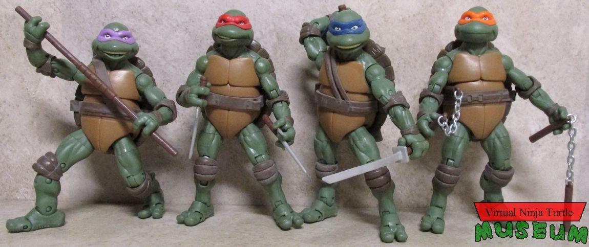 Teenage Mutant Ninja Turtles Classic Collection 1990 Movie Figures